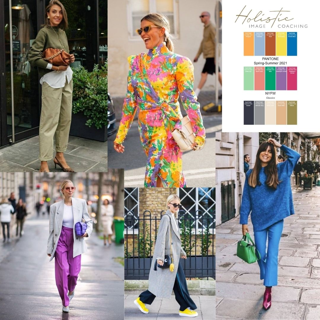 colours of the year 2021 Pantone spring summer styling ideas